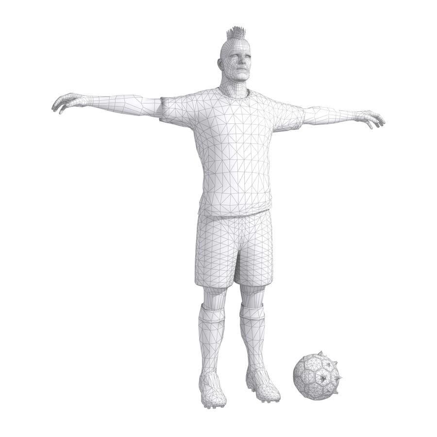 Futbol Zombi Katili royalty-free 3d model - Preview no. 9