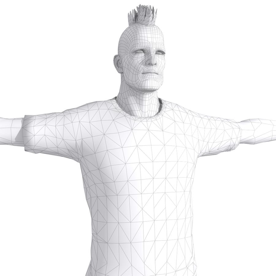 Futbol Zombi Katili royalty-free 3d model - Preview no. 10