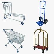 Coleção Cart 01 3d model