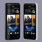 HTC Desire 300 en blanco y negro modelo 3d