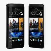 HTC Desire 300 czarno-białe 3d model