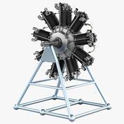 Motore di Bristol Jupiter 3d model