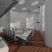 зал заседаний совета директоров 3d model