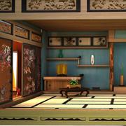 Japanse kamer 3d model