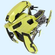 Bike Sci fi modelo 3d