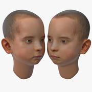 Testa di ragazzo 3d model