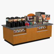 Coffee Station 3d model