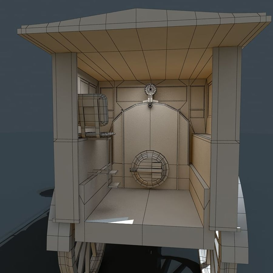 Locomotive royalty-free 3d model - Preview no. 9