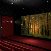 Sala del cinema 3d model