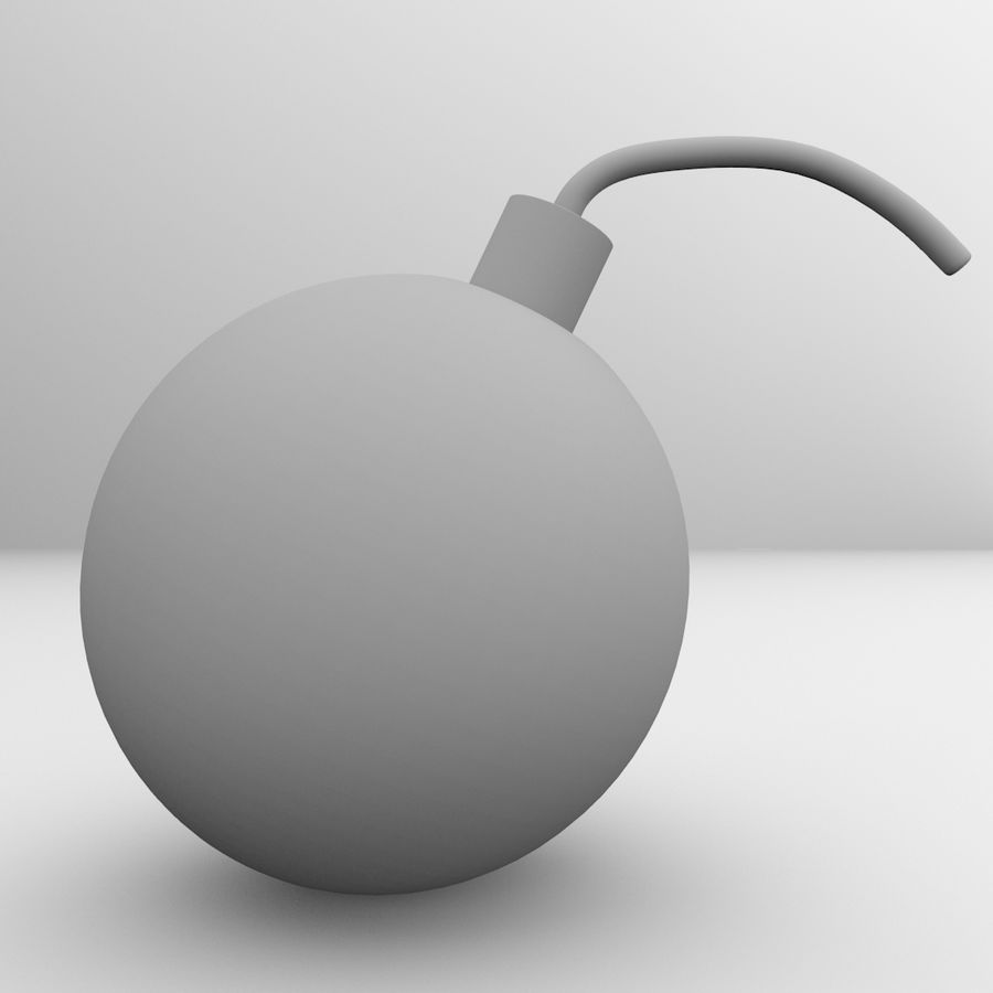 Bomb royalty-free 3d model - Preview no. 4