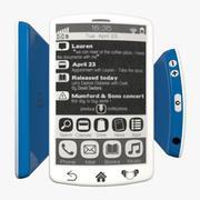 电子墨水智能手机 3d model