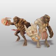 Personagem Troll 3d model