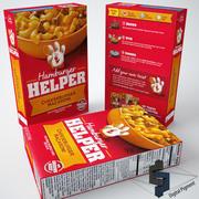 Hamburger Helper Cheeseburger 3d model