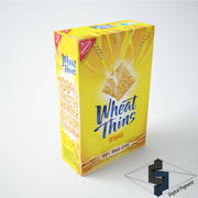 Wheat Thins Original 3d model