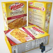 Tocino de papas con queso Velveeta modelo 3d