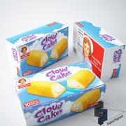 Lilla Debbie Cloud Cake 3d model