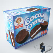 Little Debbie Cocoa Cremes 3d model