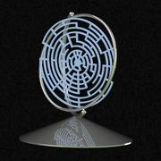 laberinto globo modelo 3d