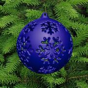 bola para árvore de natal 3d model