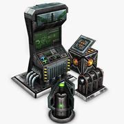 Sci-Fi-tillgångar 3d model