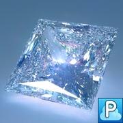 钻石公主切割 3d model