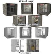 动物笼 3d model