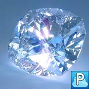Diamond Cushion Cut 3d model