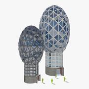 Budynki przyszłości 3d model