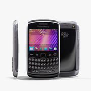 BlackBerry 9360 Black 3d model
