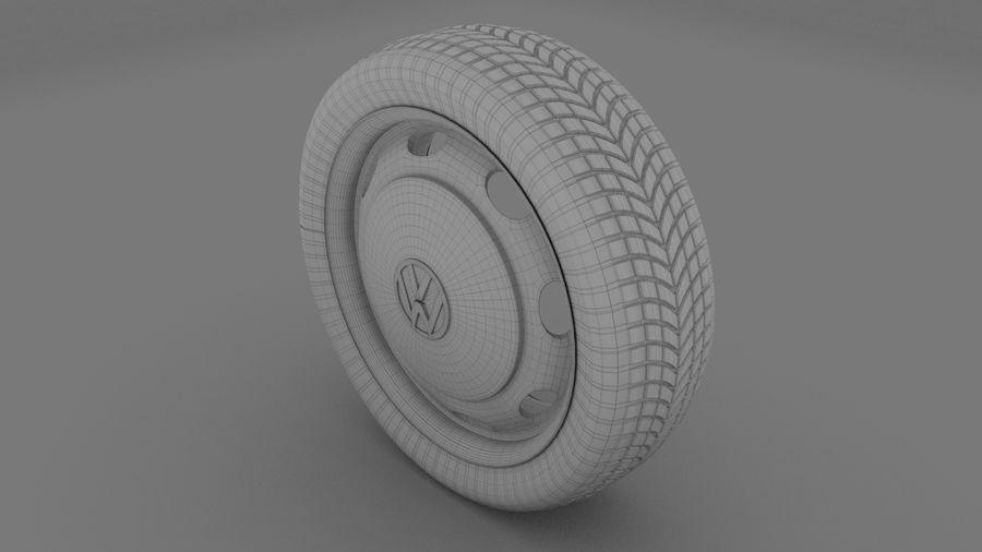 VW Beetle Wheel royalty-free modelo 3d - Preview no. 5