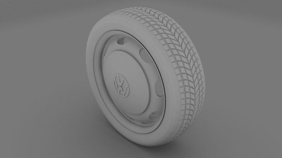 VW Beetle Wheel royalty-free modelo 3d - Preview no. 4