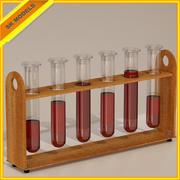 Pruebas de laboratorio modelo 3d