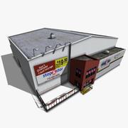 Magazyn Self Storage 3d model