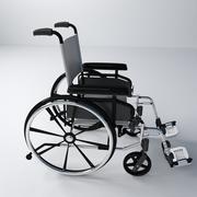車椅子 3d model