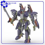 IronClad Robot Mech 3d model