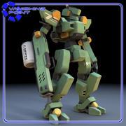 Sentinel Robot Mech 3d model