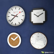 Wall Clocks Collection 3d model