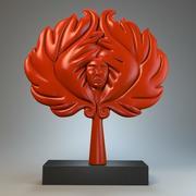 Skulptur levande 3d model