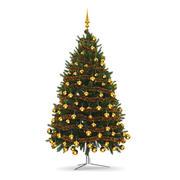 クリスマスツリー3 3d model