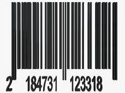 Código de barras 3d model