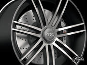 Obręcz Audi R8 3d model