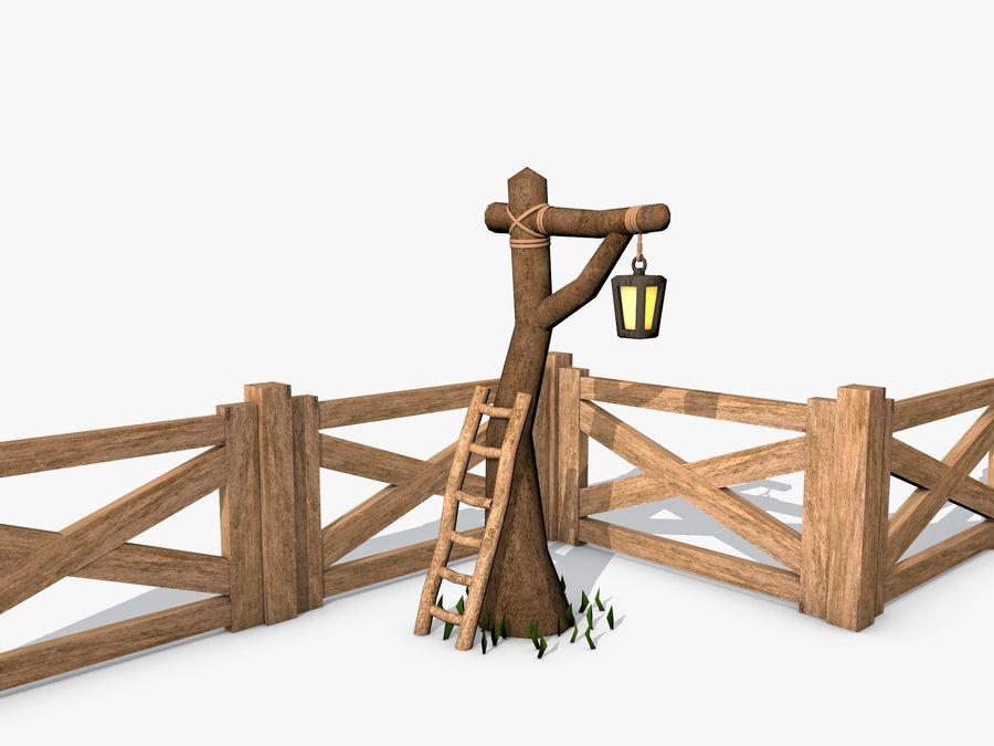 Scena di gioco royalty-free 3d model - Preview no. 2