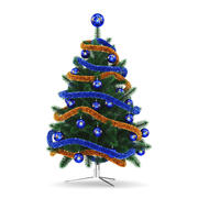 Christmas Tree 5 3d model