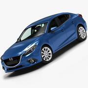 2014 Mazda 3 Limousine 3d model