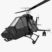 US Stealth Helicopter 2 3d model