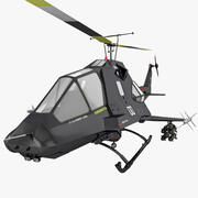 US Stealth Helicopter 3d model
