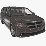 Dodge Grand Caravan 2014 3d model