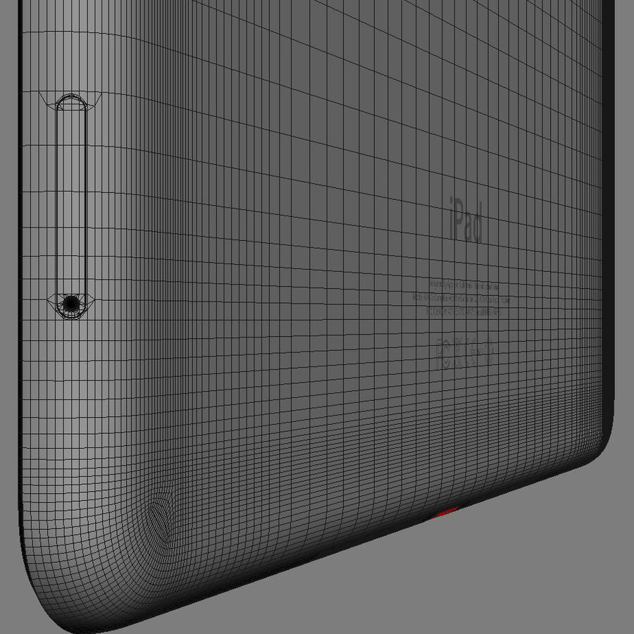 Apple Electronics Collection 2014 v1 royalty-free 3d model - Preview no. 58