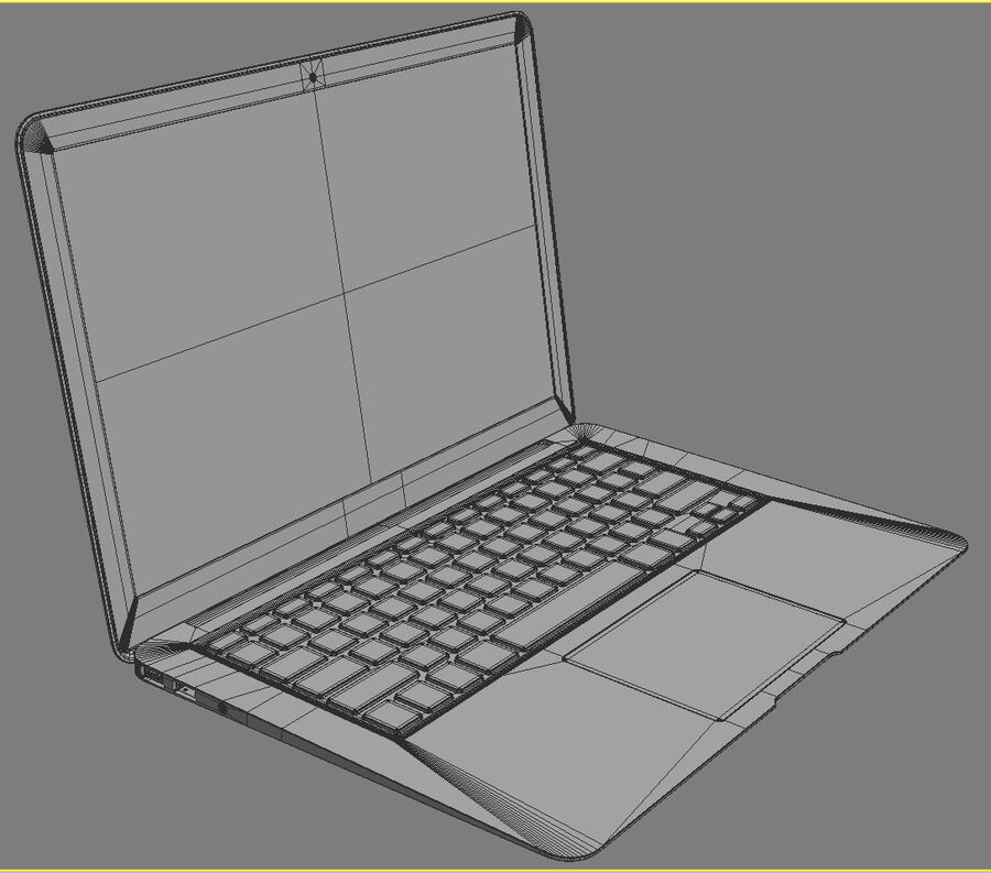 Apple Electronics Collection 2014 v1 royalty-free 3d model - Preview no. 112