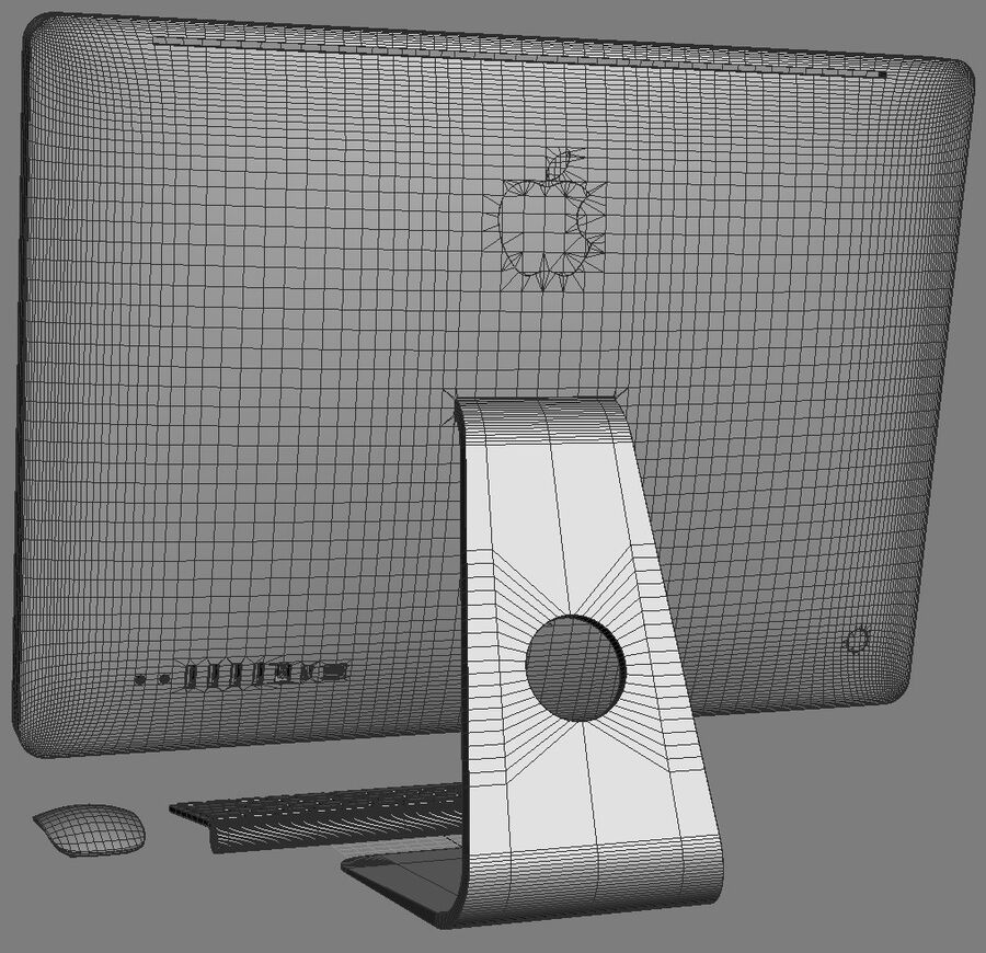 Apple Electronics Collection 2014 v1 royalty-free 3d model - Preview no. 138